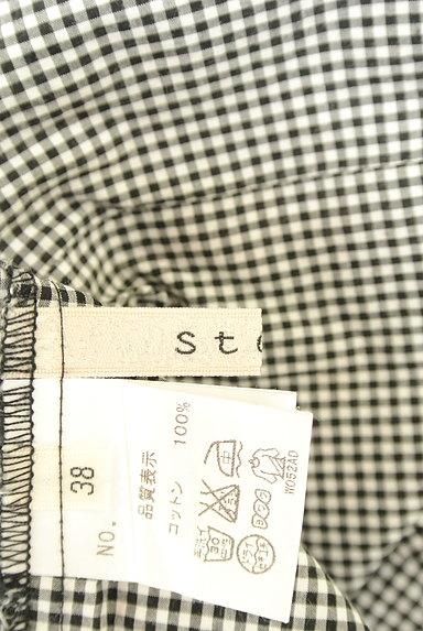 Stola.(ストラ)の古着「肩リボンフレンチコットンブラウス(カットソー・プルオーバー)」大画像6へ