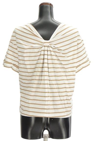 LOUNIE(ルーニィ)の古着「バックリボンボーダーTシャツ(Tシャツ)」大画像2へ