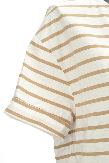 LOUNIE(ルーニィ)の古着「バックリボンボーダーTシャツ(Tシャツ)」大画像4へ
