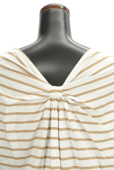 LOUNIE(ルーニィ)の古着「バックリボンボーダーTシャツ(Tシャツ)」大画像5へ