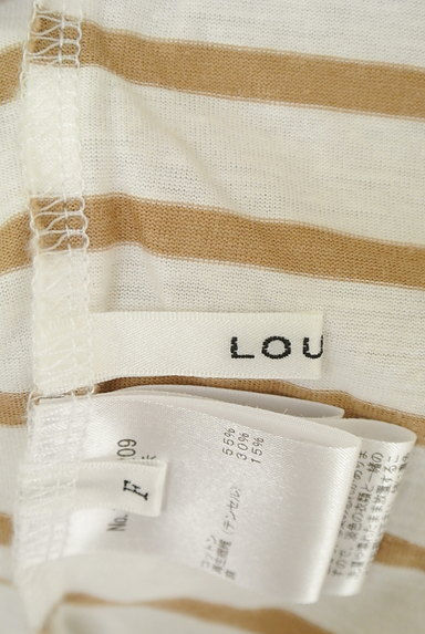 LOUNIE(ルーニィ)の古着「バックリボンボーダーTシャツ(Tシャツ)」大画像6へ