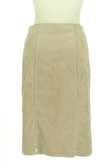 Stola.(ストラ)の古着「レースアップスエードタイトスカート(スカート)」大画像2へ