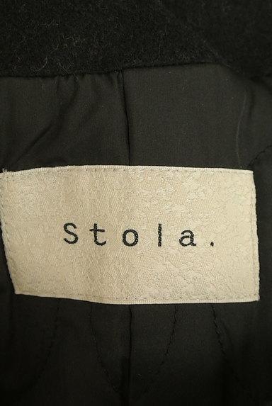 Stola.(ストラ)の古着「フード付きロングウールコート(コート)」大画像6へ