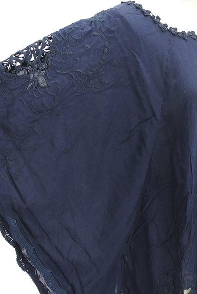 BABYLONE(バビロン)の古着「刺繍レースフレアドルマンカットソー(カットソー・プルオーバー)」大画像5へ