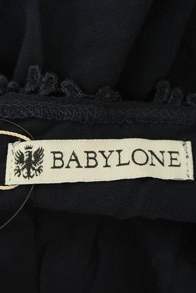 BABYLONE(バビロン)の古着「刺繍レースフレアドルマンカットソー(カットソー・プルオーバー)」大画像6へ