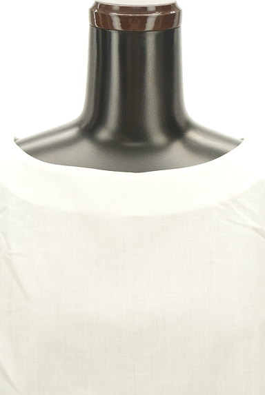 Bon mercerie(ボンメルスリー)の古着「フリル袖リネン混カットソー(カットソー・プルオーバー)」大画像5へ