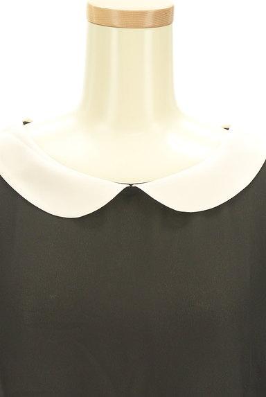 Bon mercerie(ボンメルスリー)の古着「丸襟スカラップカットソー(カットソー・プルオーバー)」大画像4へ