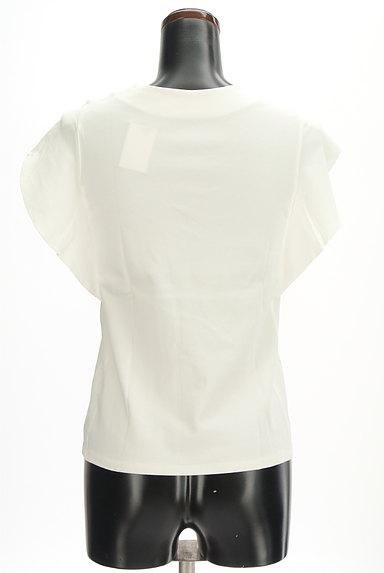 Khaju(カージュ)の古着「Vネックフリル袖カットソー(カットソー・プルオーバー)」大画像2へ