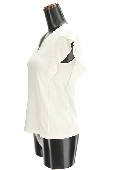 Khaju(カージュ)の古着「Vネックフリル袖カットソー(カットソー・プルオーバー)」大画像3へ