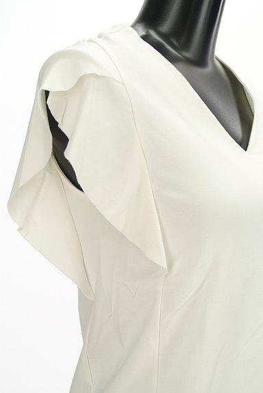Khaju(カージュ)の古着「Vネックフリル袖カットソー(カットソー・プルオーバー)」大画像4へ