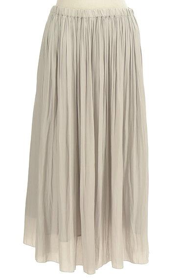 un dix cors(アンディコール)の古着「ギャザーフレアロングスカート(ロングスカート・マキシスカート)」大画像1へ