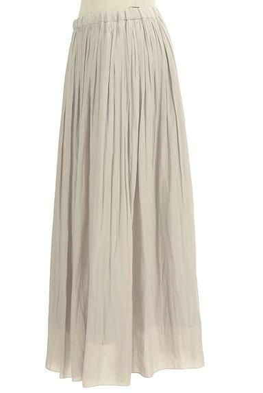 un dix cors(アンディコール)の古着「ギャザーフレアロングスカート(ロングスカート・マキシスカート)」大画像3へ