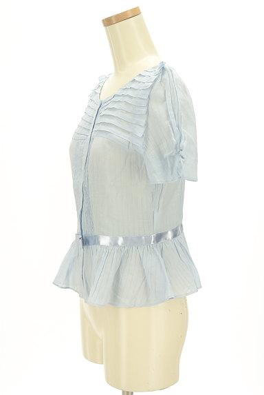 JILLSTUART(ジルスチュアート)の古着「切替ペプラムカットソー(カットソー・プルオーバー)」大画像3へ
