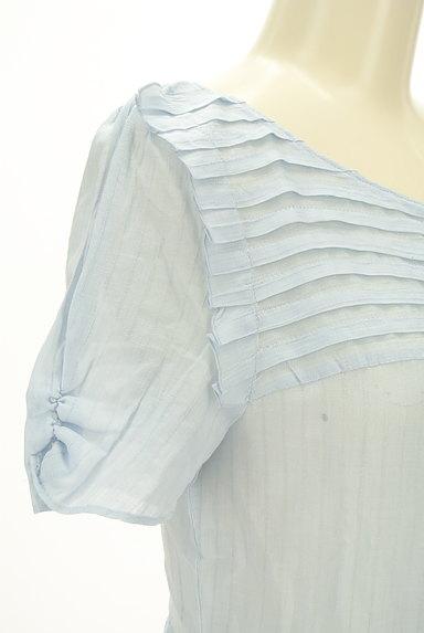 JILLSTUART(ジルスチュアート)の古着「切替ペプラムカットソー(カットソー・プルオーバー)」大画像4へ