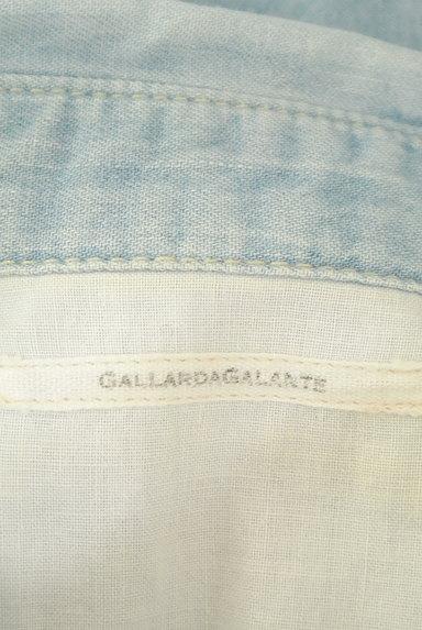 GALLARDAGALANTE(ガリャルダガランテ)の古着「ハイウォッシュデニムシャツ(カジュアルシャツ)」大画像6へ