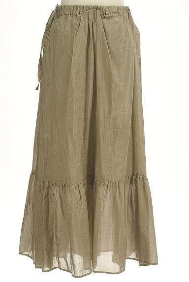Adam et Rope(アダムエロペ)の古着「切替ギャザーロングスカート(ロングスカート・マキシスカート)」大画像2へ