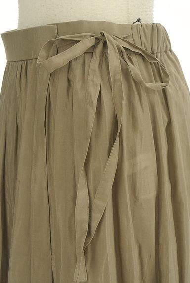 Adam et Rope(アダムエロペ)の古着「切替ギャザーロングスカート(ロングスカート・マキシスカート)」大画像4へ