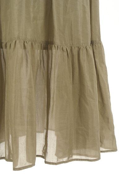 Adam et Rope(アダムエロペ)の古着「切替ギャザーロングスカート(ロングスカート・マキシスカート)」大画像5へ