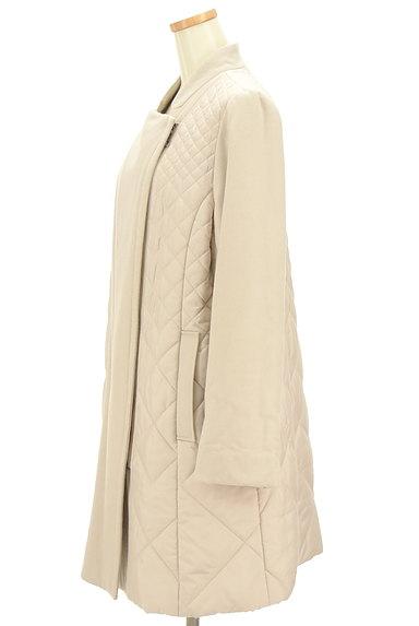 HIROKO BIS(ヒロコビス)の古着「キルティング切替ロングコート(コート)」大画像3へ