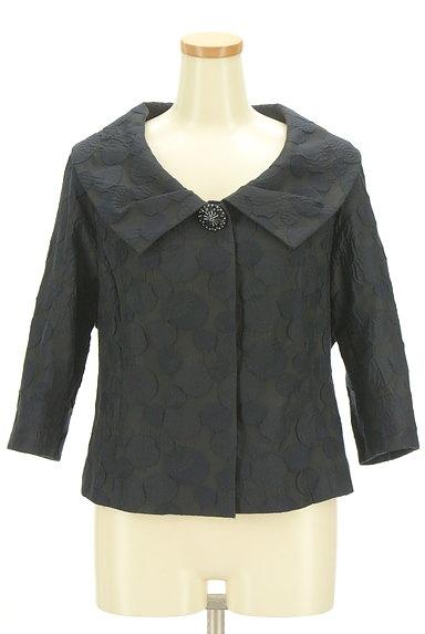 HIROKO BIS(ヒロコビス)の古着「エンボスドット7分袖ジャケット(ジャケット)」大画像1へ