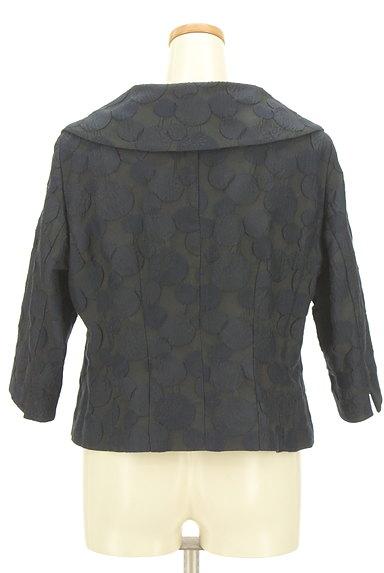 HIROKO BIS(ヒロコビス)の古着「エンボスドット7分袖ジャケット(ジャケット)」大画像2へ