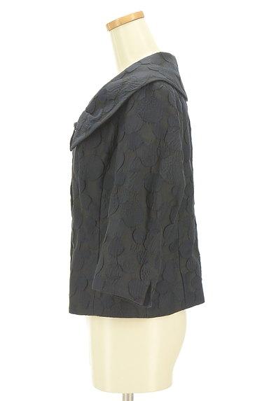 HIROKO BIS(ヒロコビス)の古着「エンボスドット7分袖ジャケット(ジャケット)」大画像3へ