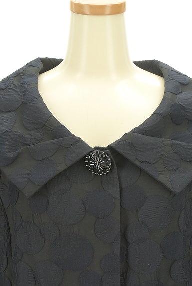 HIROKO BIS(ヒロコビス)の古着「エンボスドット7分袖ジャケット(ジャケット)」大画像4へ