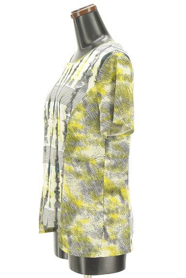 HIROKO BIS(ヒロコビス)の古着「総柄プリント切替カットソー(カットソー・プルオーバー)」大画像3へ
