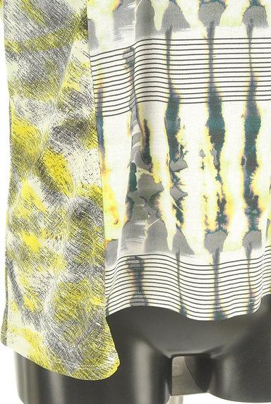 HIROKO BIS(ヒロコビス)の古着「総柄プリント切替カットソー(カットソー・プルオーバー)」大画像5へ