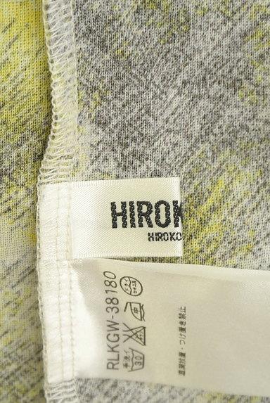 HIROKO BIS(ヒロコビス)の古着「総柄プリント切替カットソー(カットソー・プルオーバー)」大画像6へ