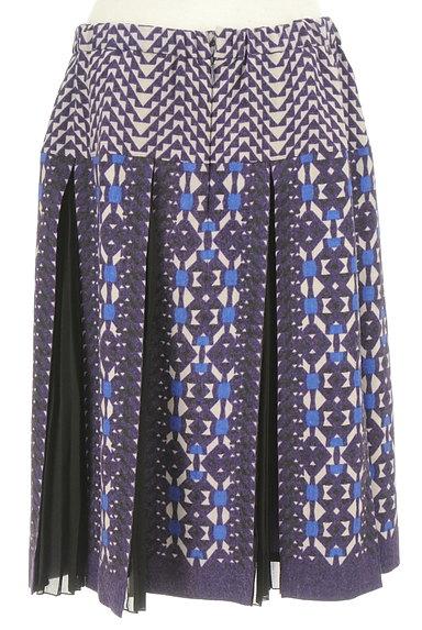 HIROKO BIS(ヒロコビス)の古着「エスニック刺繍タックプリーツスカート(スカート)」大画像2へ