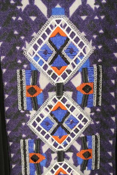 HIROKO BIS(ヒロコビス)の古着「エスニック刺繍タックプリーツスカート(スカート)」大画像4へ