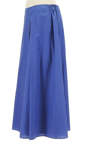 HIROKO BIS(ヒロコビス)の古着「タックフレアカラーロングスカート(ロングスカート・マキシスカート)」大画像3へ