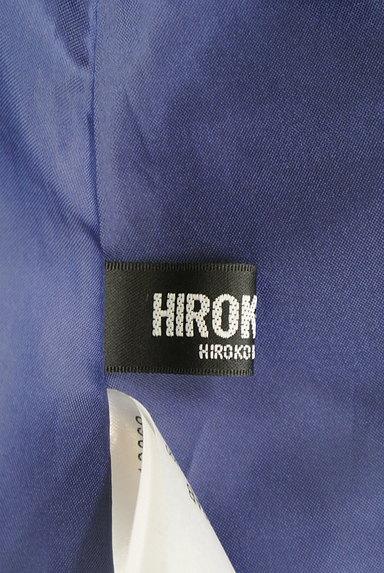 HIROKO BIS(ヒロコビス)の古着「タックフレアカラーロングスカート(ロングスカート・マキシスカート)」大画像6へ