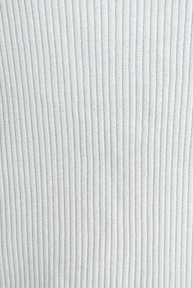 VICKY(ビッキー)の古着「スカラップVネック7分袖リブニット(ニット)」大画像5へ
