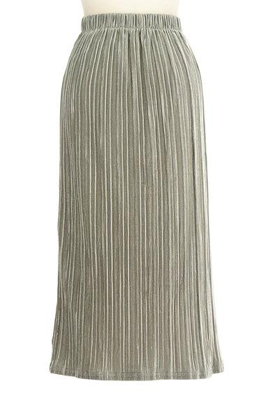 VICKY(ビッキー)の古着「ベロアプリーツミモレスカート(ロングスカート・マキシスカート)」大画像2へ
