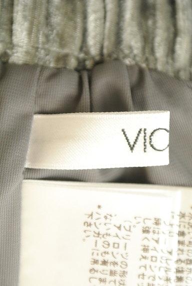 VICKY(ビッキー)の古着「ベロアプリーツミモレスカート(ロングスカート・マキシスカート)」大画像6へ