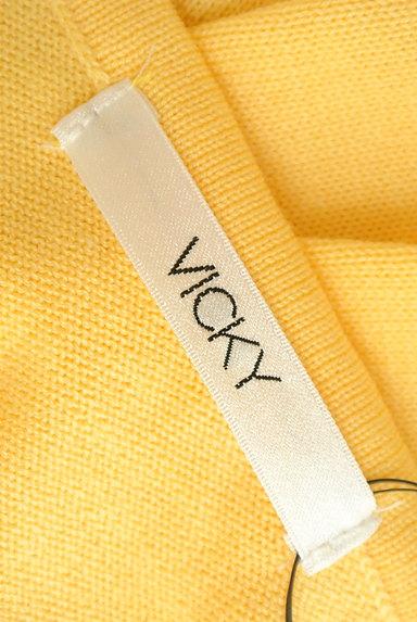 VICKY(ビッキー)の古着「ストライプ切替ロングワンピース(ワンピース・チュニック)」大画像6へ