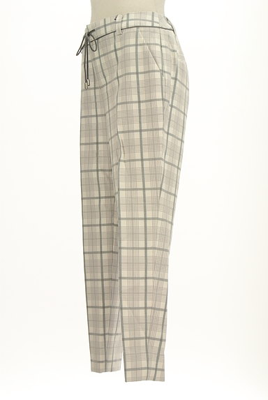 VICKY(ビッキー)の古着「チェック柄センタープレスパンツ(パンツ)」大画像3へ