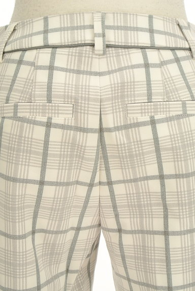 VICKY(ビッキー)の古着「チェック柄センタープレスパンツ(パンツ)」大画像5へ