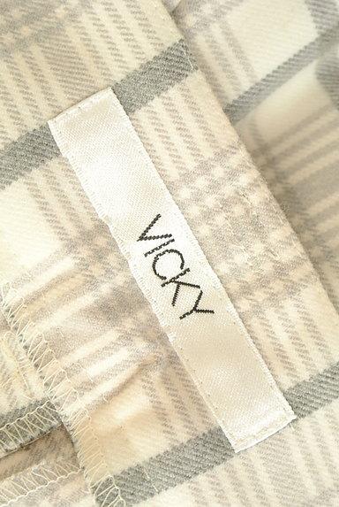VICKY(ビッキー)の古着「チェック柄センタープレスパンツ(パンツ)」大画像6へ