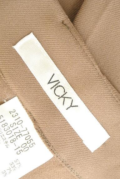 VICKY(ビッキー)の古着「タックセンタープレスパンツ(パンツ)」大画像6へ