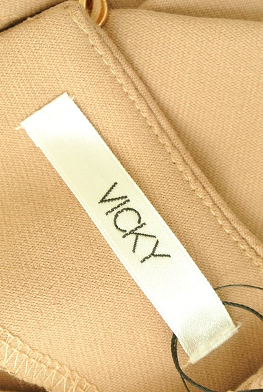 VICKY(ビッキー)の古着「花刺繍レース切替カットソー(カットソー・プルオーバー)」大画像6へ