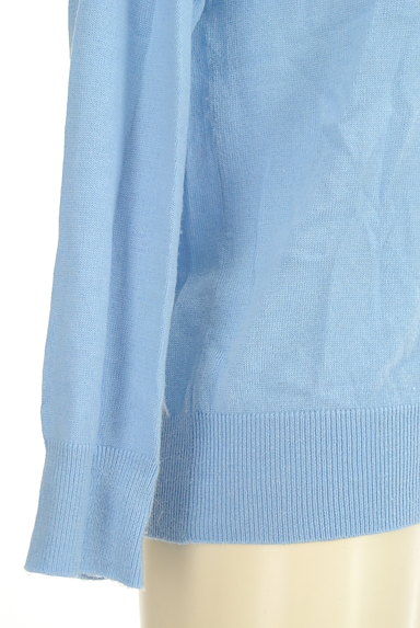 VICKY(ビッキー)の古着「アシンメトリー刺繍ニット(ニット)」大画像5へ