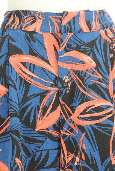 VICKY(ビッキー)の古着「リゾート花柄リボンワイドパンツ(パンツ)」大画像4へ