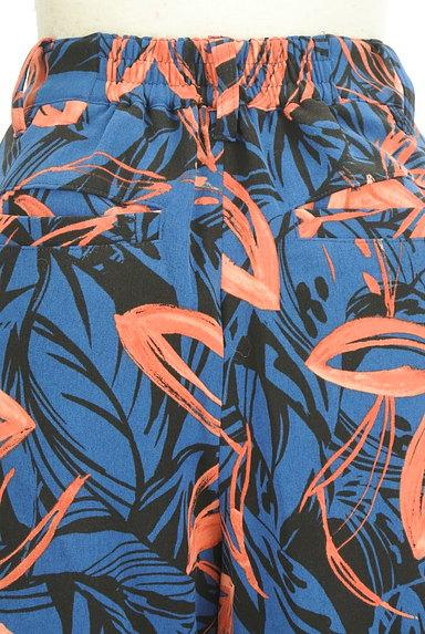 VICKY(ビッキー)の古着「リゾート花柄リボンワイドパンツ(パンツ)」大画像5へ