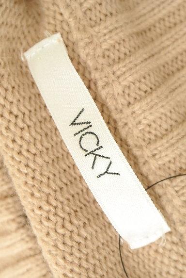 VICKY(ビッキー)の古着「ハイネックロングニットワンピース(ワンピース・チュニック)」大画像6へ