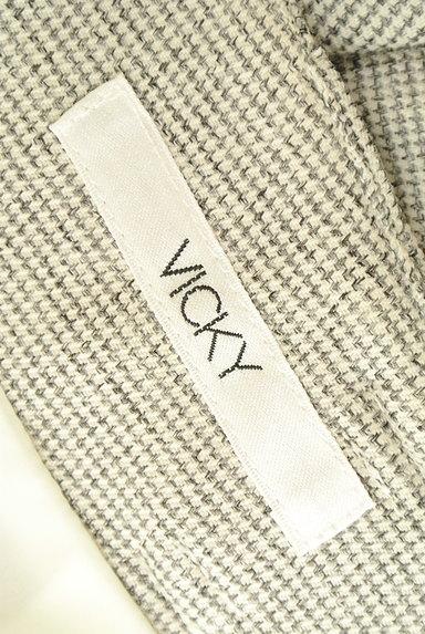 VICKY(ビッキー)の古着「ハイウエストアンクルパンツ(パンツ)」大画像6へ