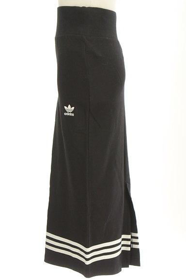 adidas(アディダス)の古着「ミモレ丈三本ラインスウェットスカート(スカート)」大画像3へ
