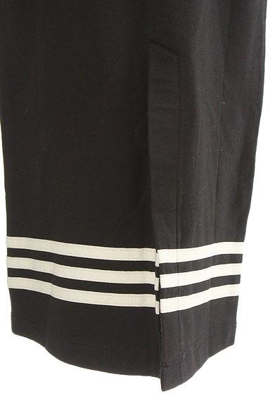 adidas(アディダス)の古着「ミモレ丈三本ラインスウェットスカート(スカート)」大画像4へ